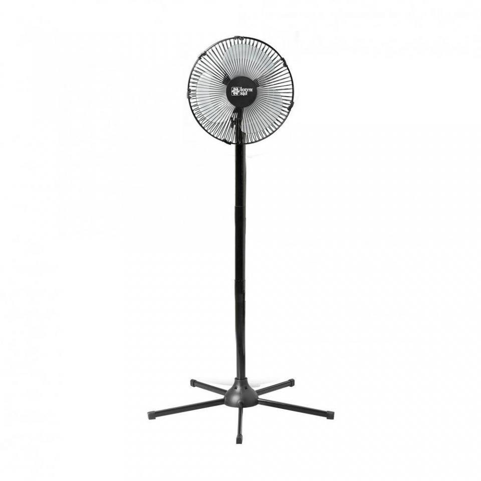 Ventilador De Coluna Turbo 30cm Grade Metal Preto - 127v